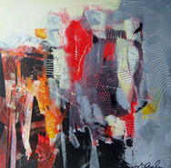 Laurence Chandler, abstract, original art, maryland, african american, abstract expressionism